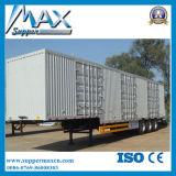 중국 최신 지원 디젤 엔진 Box Truck 밴 Semi Trailer