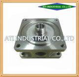 CNC van de Vraag van deel-OEM van de Machine van China van de Delen van de Machine van het staal het Hoge Centrale Draaien van Machines