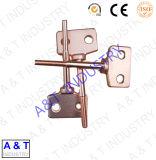 精密CNCの旋盤機械は真鍮の部分を分ける