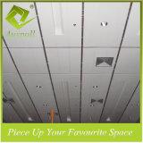 粉のコーティング200mmwのアルミニウム装飾的なストリップの天井のタイル