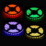 60LEDs / M 5050 RGB LED tira impermeable