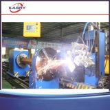 Máquina de estaca redonda da câmara de ar do quadrado da tubulação/cortador inoxidável do plasma do CNC da câmara de ar do metal da tubulação de aço