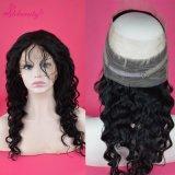 Frontals 100% шнурка волны 360 человеческих волос свободные