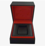 A caixa de relógio de couro da alta qualidade personalizada aceita