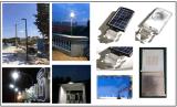 3W luz solar da segurança do diodo emissor de luz do painel solar 8W