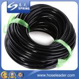 Tube noir en plastique de l'eau molle de PVC