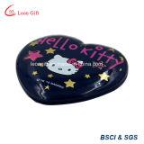Hello Kitty Espejo Compacto en forma de corazón para niñas
