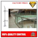 ホテルおよびショッピングプロジェクトのためのガラスが付いているステンレス鋼の柵