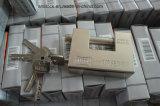 Cerradura blindada, Ske Cerradura interior de color dorado, Cadena de acero Al-92