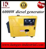 6kw Cumminis silencieux générateur diesel pour la vente