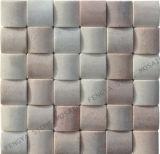 Parede de pedra natural de ladrilhos, mosaicos de mármore parede artística, ladrilhos de pedra