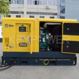 tipo de alquiler conjunto de 65kVA 52kw de generador diesel silencioso de Cummins con el depósito de gasolina grande
