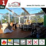 Tenda trasparente di cerimonia nuziale del partito della tenda foranea con il sistema di raffreddamento