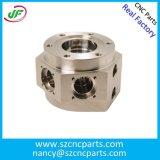 Kundenspezifisches L Metall-CNC-maschinell bearbeitenteile oder Maschinerie-Teile, CNC-Prägeteile