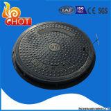 C250 En124 SMC 합성 배출된 맨홀 뚜껑