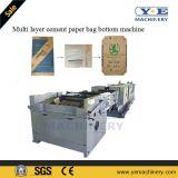 Automatische multi Schicht-Kleber-Papierbeutel-Unterseiten-Maschine