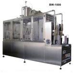 Máquina de embalagem de produtos lácteos