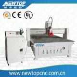Una macchina del tornio di CNC della garanzia di anno