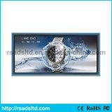 Caixa leve de anúncio lateral dobro personalizada da tela do diodo emissor de luz do indicador