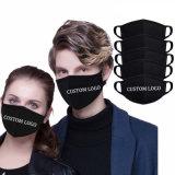 Моющийся фильтр многократного использования логотипа моды ТЧ 2,5 загрязнения фильтра черный рот дизайн пыли мачты Anti-Dust хлопковой тканью спорта защитную маску для лица маску для лица для Мужчин Женщин детей