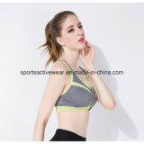 En gros plus le soutien-gorge de sport courant sans joint de yoga de femmes de taille