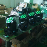 DMX 최고 7X12W 단계 빛 LED 세척 소형 이동하는 광속