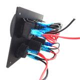 De boot zet Comité met Voltmeter en Lader USB op