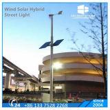Drei Schaufel-Steuerung-horizontaler Mittellinien-Turbine-Wind-hybrides Straßenlaternesolar