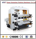 El precio de fábrica bolso no tejido de rollo a rollo máquina de impresión flexográfica
