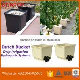 Caçamba neerlandesa para sistema de irrigação gota