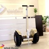 Rad-Selbst des Wind-Vagabund-zwei, der elektrisches Fahrzeug balanciert