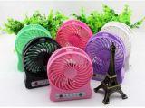 Ventilator USB van de Reis van de Macht van de Batterij van de lucht de Draagbare Koel Handige Kleine Navulbare Mini