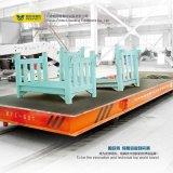 Caminhão de transporte ferroviário automatizado com luz de advertência