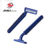 Blade de 2 cuchillas de afeitar mejor navajas de afeitar la cabeza de los hombres