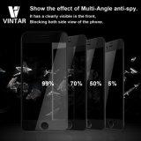 Protector de la pantalla del vidrio Tempered del Anti-Espía de Vintar 9h de la cobertura total de la aislamiento 3D] para el iPhone 7