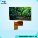 5.0 экран дюйма TFT LCD с сопротивляющей панелью касания