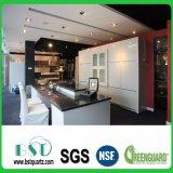 Kundenspezifischer schwarzer Küche-Tisch-Oberseite-Quarz-Stein