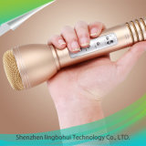 Microfone de mão Alto-falante Bluetooth para Karaoke Singing