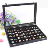 VAGULA caixa de exibição de jóias vendidas caixa de mancuernas de caixa de anel 100PCS 12