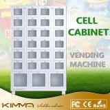 Armoire de cellules avec une grande cellule pour vendre les éléments de grande taille