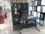 2017 Mobilier de bureau moderne Boss de métal Table (à013)