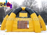 عنكبوت أصفر قابل للنفخ عملاق خيمة قبّة لأنّ يعلن حادث