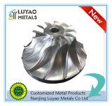CNC di precisione che lavora con la lega di titanio