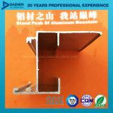 Profil en aluminium d'extrusion pour la taille/couleur personnalisées par marché de la Libye
