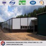 La Classe-Un 2017 a qualifié l'entrepôt utilisé de construction de structure métallique à vendre