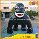 Annonçant le chimpanzé gonflable de dessin animé gonflable animal modèle de gorille (AQ54353)