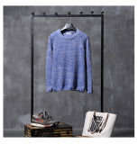 Hot Custom Covering Cardigan Jacquard Tecido de malha Sweater of Man Dress