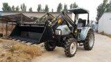 De Lader van het VoorEind van Tz04D 4in1, Geschikte 55HP Tractor, de Staaf van de Stier, Vlakke Maat, Tanden en Netwerk op Emmer