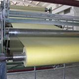 Stuoia del tessuto della vetroresina di colore giallo del E-Vetro di resistenza solvibile