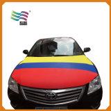 Tissu Lycar Couvercle de capot de voiture Nationale personnalisé pour la campagne d'un drapeau